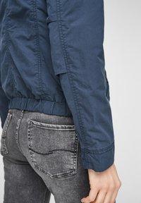 Q/S designed by - Light jacket - dark blue - 4