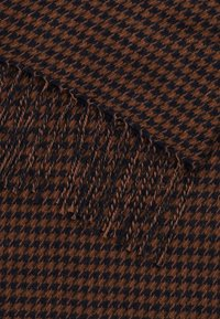 Marc O'Polo - SCARF WOVEN STRUCTURED HOUNDSTOOT - Scarf - brown - 1