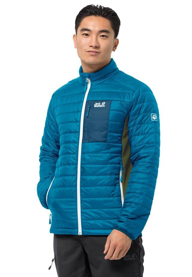 Light jacket - blue jewel