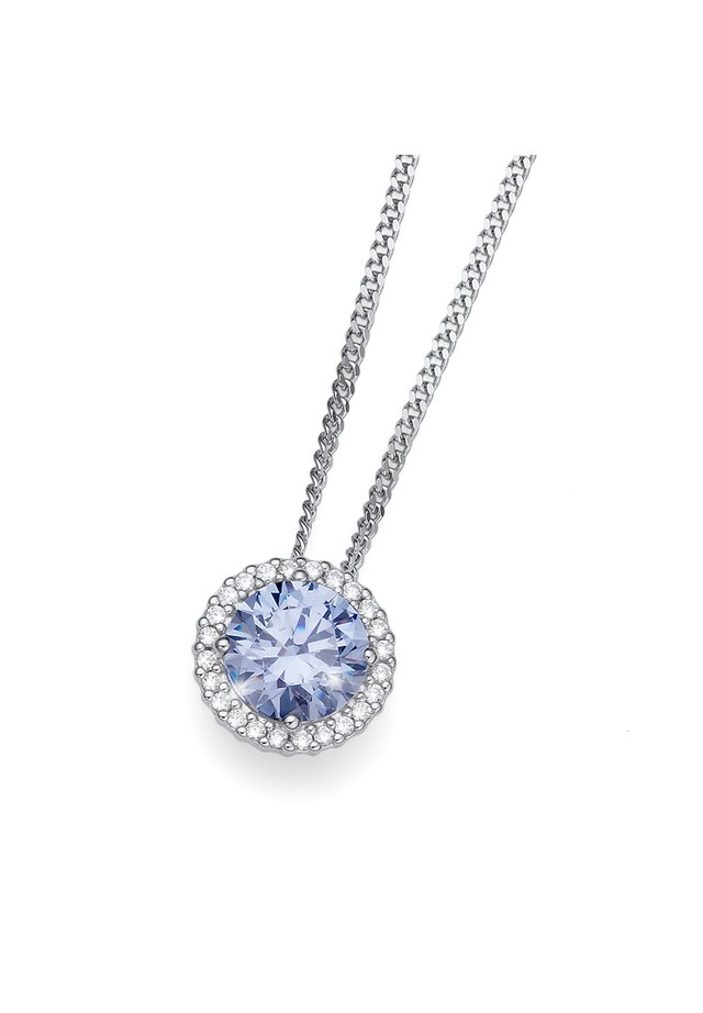 MIT ANHÄNGER TRIUMPH - Necklace - blau