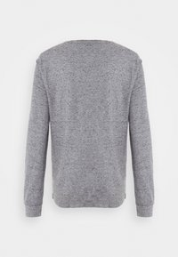 Tommy Jeans - POCKET TEE - Bluzka z długim rękawem - dark grey heather - 7