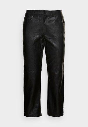 NMLISSY PANTS - Trousers - black