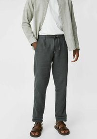 C&A - Trousers - dark green - 0
