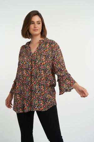 Blouse - multi pink-red