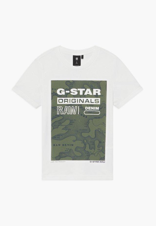 Camiseta estampada - off- white