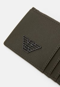 Emporio Armani - CARD HOLDER - Wallet - dark green - 4