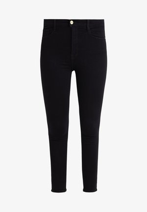 ALI HIGH RISE CIGARETTE - Jeans Skinny Fit - noir