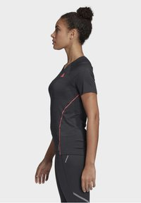 adidas Performance - ADI RUNNER PRIMEGREEN RUNNING - T-shirt print - Black - 3