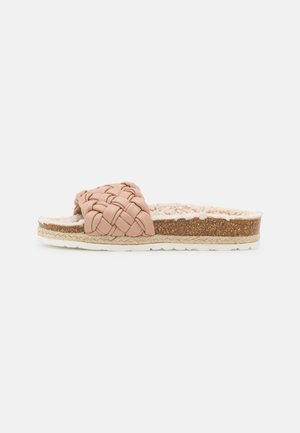 PLAGETTE JOLIE - Pantofle - nature