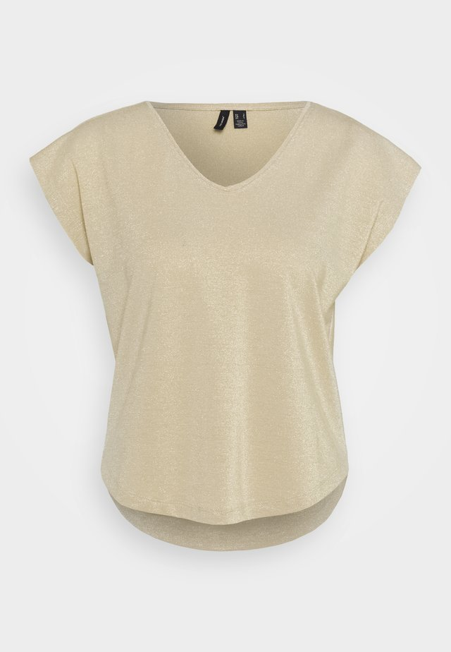 VMSHINE  - T-shirt basique - birch/gold