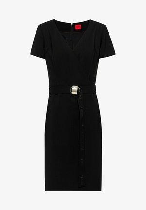 KIMESI - Shift dress - black