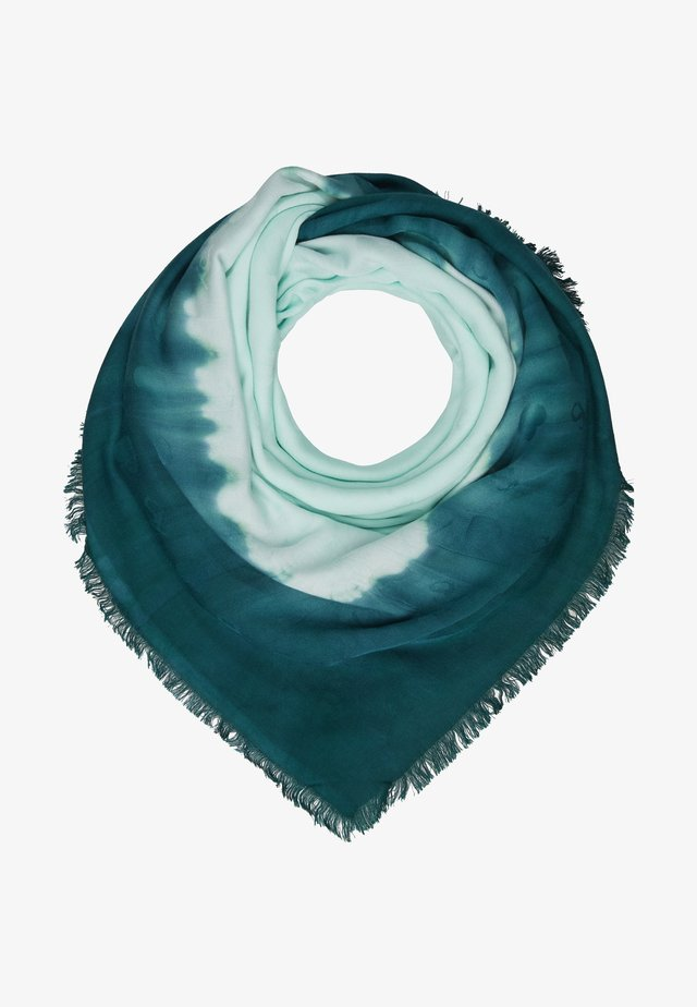 KEFIA IN TESSUTO TIE DYE  - Foulard - moonlight jade/green jade