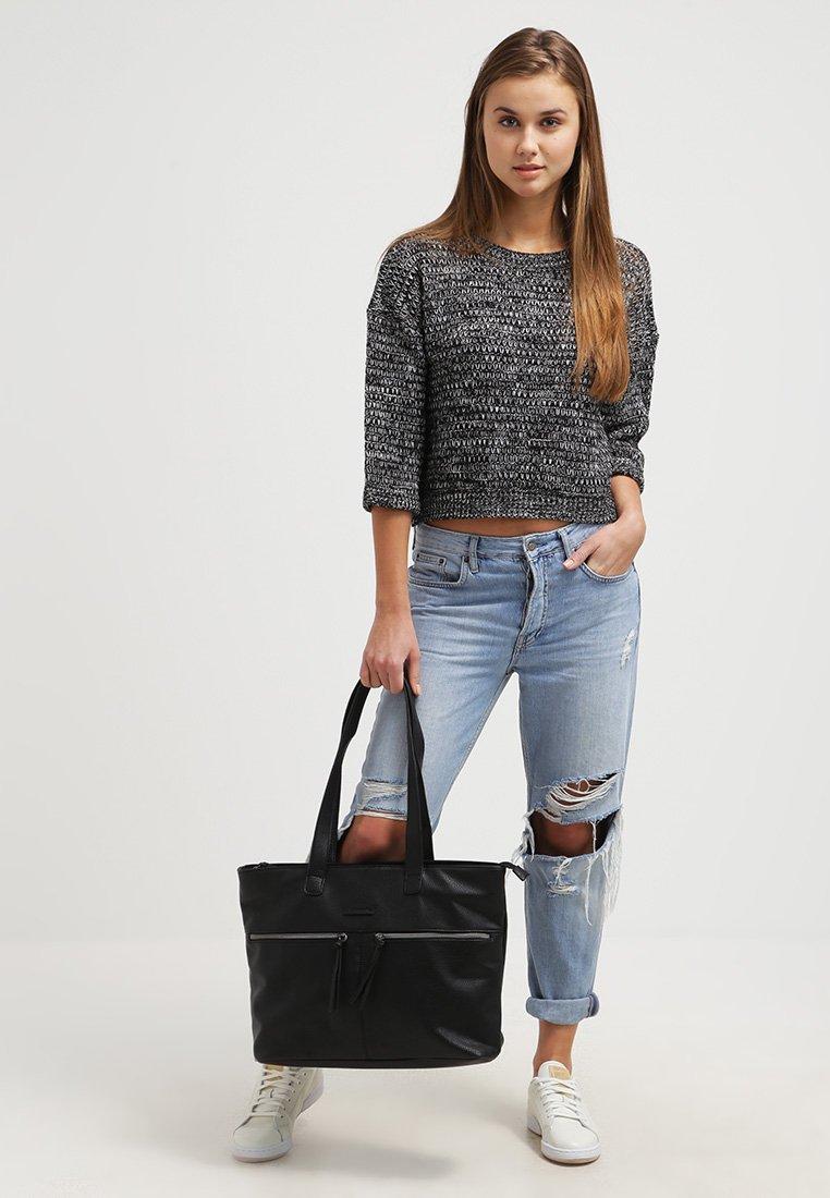 Tamaris - GLAM BUSINESS - Laptop bag - black