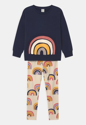 MINI RAINBOW SET UNISEX - Sweatshirt - navy
