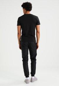 G-Star - BASE HEATHER 2-PACK - T-shirt - bas - solid black - 2