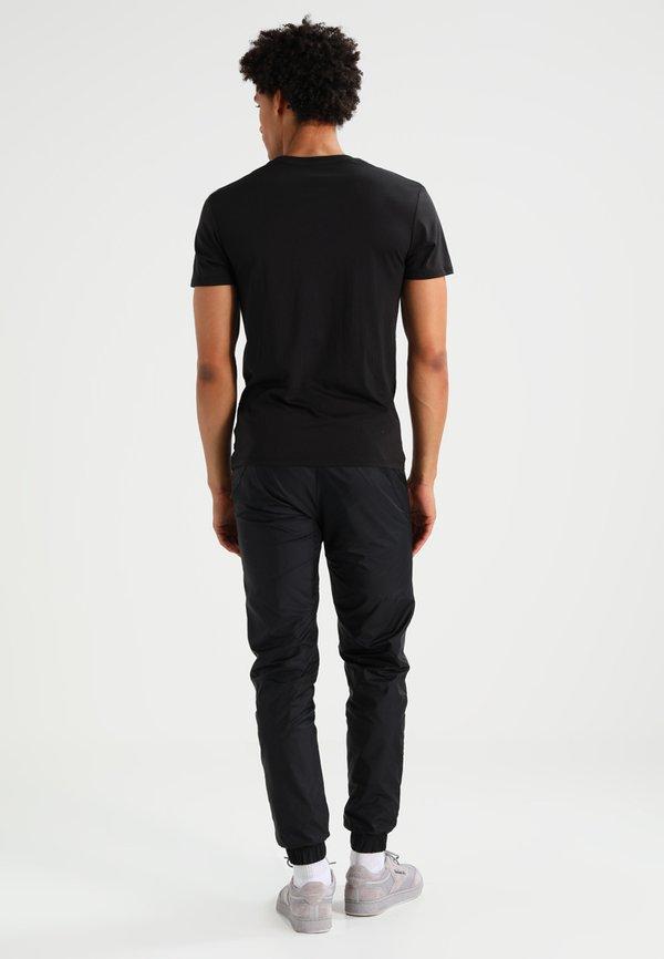G-Star BASE HEATHER 2-PACK - T-shirt basic - solid black/czarny Odzież Męska FFTQ