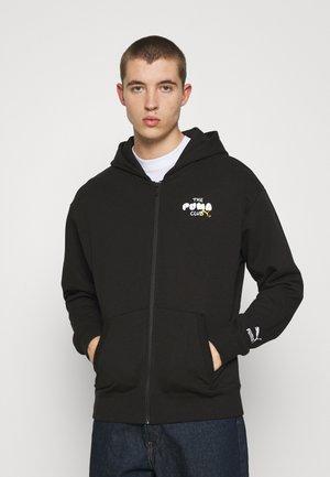 CLUB GRAPHIC HOODIE - Felpa con zip - black