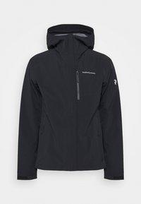Peak Performance - XENON JACKET - Hardshell jacket - black - 4