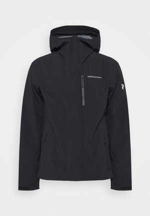 XENON JACKET - Giacca hard shell - black