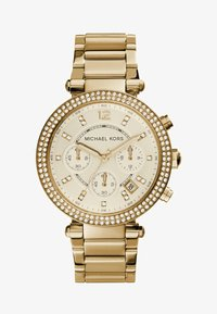 Michael Kors - PARKER - Hodinky se stopkami - gold-coloured