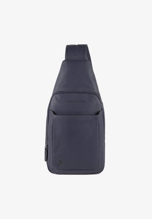 BLACK SQUARE  - Across body bag - blue4