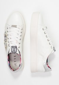 JETTE - Trainers - offwhite/silver - 3