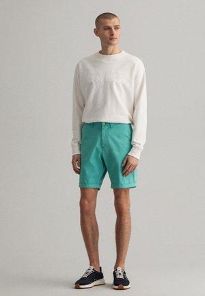 REGULAR FIT - Shorts - green lagoon