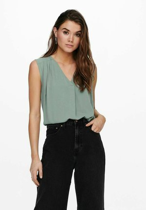 Blouse - chinois green
