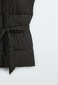 Massimo Dutti - STEP - Waistcoat - black - 3