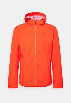 VELDEN - Hardshellová bunda - dark orange