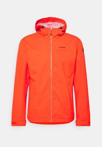 VELDEN - Outdoor jacket - dark orange