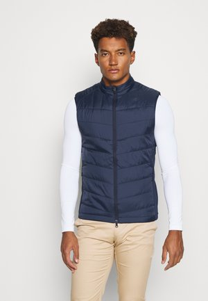 SWING TECH QUILTED - Vest - peacoat
