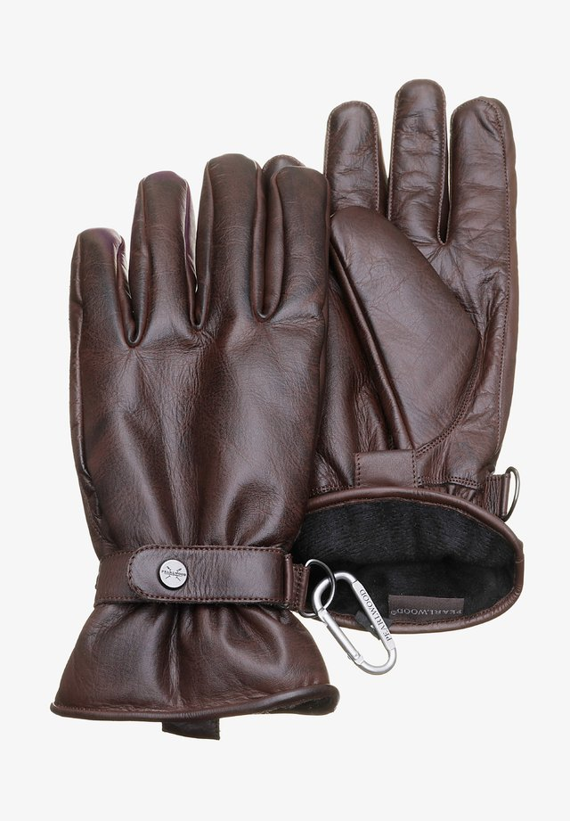 HOOKER - Gloves - braun
