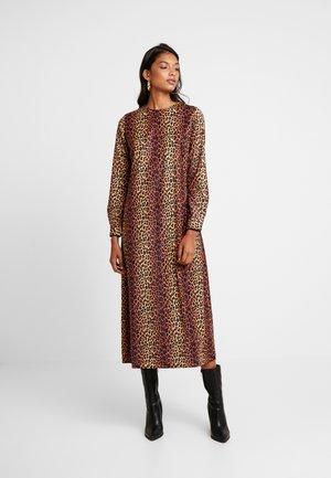 ALEXIS DRESS - Maxi dress - brown/black