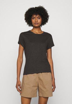 HAZEL TEE - Basic T-shirt - dark mole