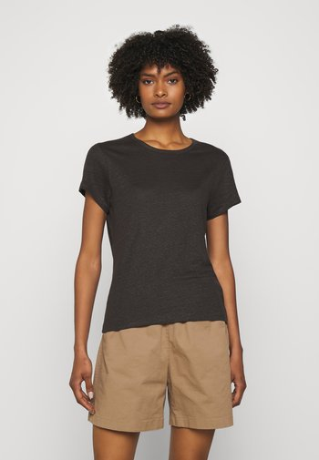 HAZEL TEE - T-shirt - bas - dark mole