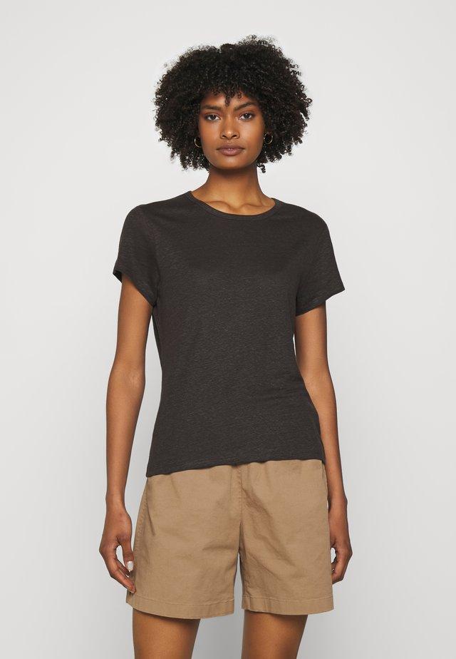 HAZEL TEE - T-shirt basic - dark mole