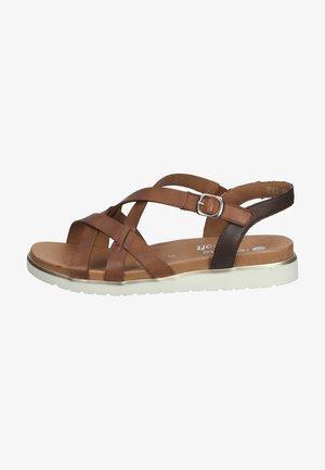 Sandals - muskat/havanna /