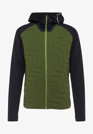 SNUG - Snowboardjakke - black/rifle green
