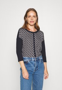 comma casual identity - Long sleeved top - dark blue - 0