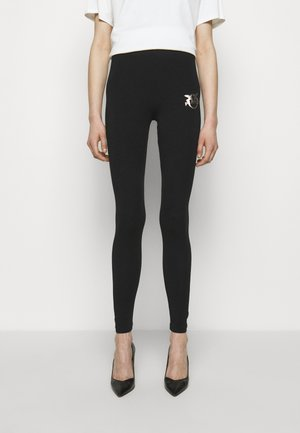 BUONO STRETCH - Leggings - black