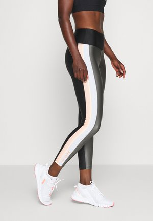 SIDE RUNNER LEGGING - Punčochy - gryd