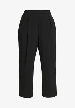 PALAZZO - Pantalon classique - black