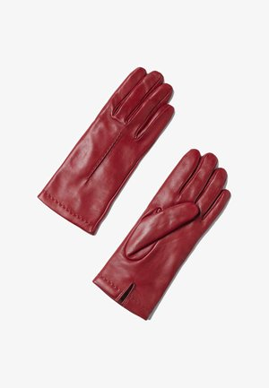 Gloves - rot rouge red