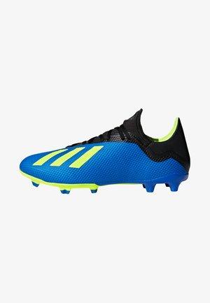 X 18.3 FG - Moulded stud football boots - fooblu/syello/cblack
