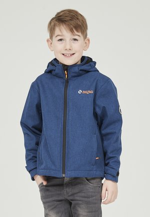 MANON MELANGE WATERPROOF - Light jacket - 2012 true blue