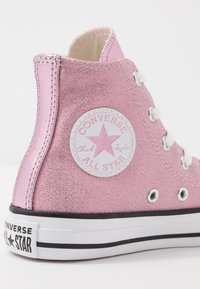 Converse - CHUCK TAYLOR ALL STAR SIDE ZIP - High-top trainers - cherry blossom/white - 2