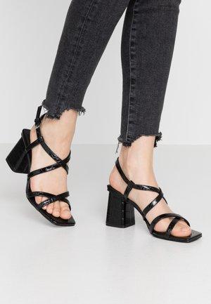 WOODIT - Sandals - black