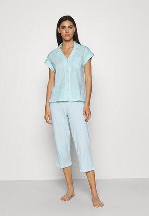 CAPRI SET - Pyjama - turquoise