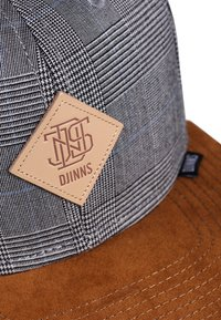 Djinn's - GLENCHECK - Cap - light grey